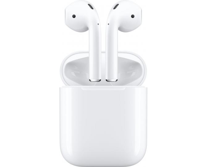 Наушники Apple AirPods в зарядном футляре
