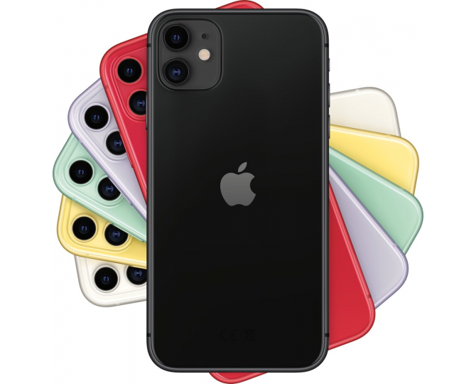 Apple iPhone 11, 128 ГБ, Чёрный