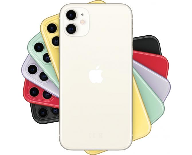 Apple iPhone 11, 128 ГБ, Белый