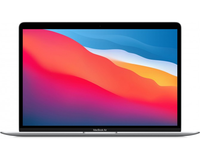 Apple MacBook Air (M1, 2020) 8 ГБ, 256 ГБ SSD, Cеребристый